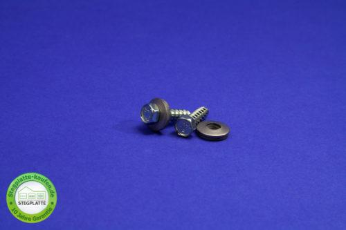 Edelstahl-Schraube Metall für Alu-Alu Verbindungsprofil