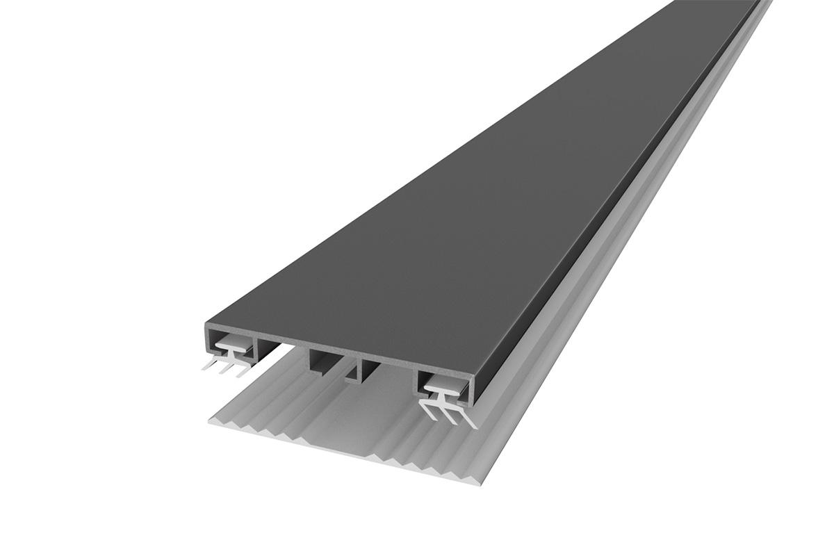 Alu Verbindungsprfol universal für alle Stegplatten Stärken