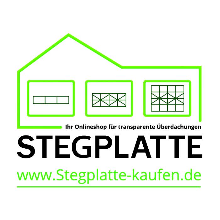 Firmenlogo Stegplatte-kaufen.de mit Webadresse