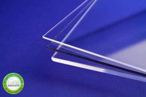 Polycarbonat Massivplatte in verschiedenen Stärken