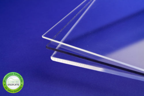 Plexiglas Acryl PMMA Massivplatte glasklar